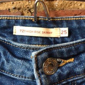 Levi's Jeans - Levi's 721 High Rise Skinny